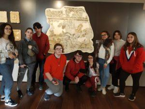 Visita al Museo de Málaga del alumnado de Latín