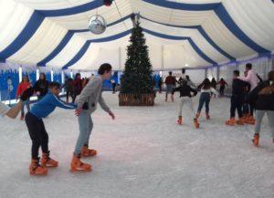 Patinaje sobre hielo para el alumnado de 3º y 4º de ESO