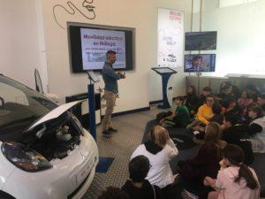 Visita al Centro de Movilidad Eléctrica